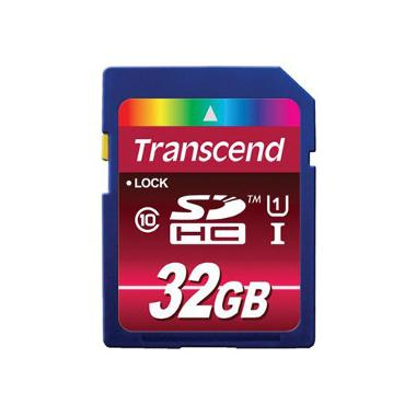 Transcend 32GB SDHC Memory Card Class 10 UHS-I