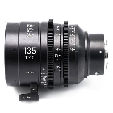 Sigma 135mm T2 Cine E Mount