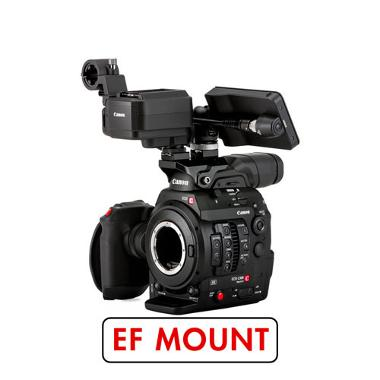 Canon C300 Mark II EF Mount Cinema Camera