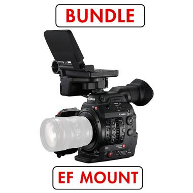 Canon C300 Mark II EF Mount Cinema Camera