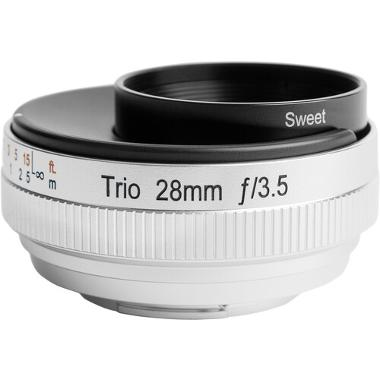 Lensbaby Trio 28mm f/3.5 RF Mount Lens