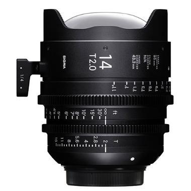 Sigma 14mm T2 EF Mount Cine Lens