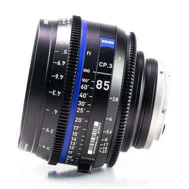 Zeiss CP.3 85mm T2.1 Lens for Canon EF Mount