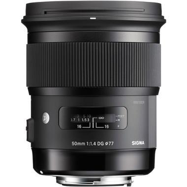 Sigma 50mm f/1.4 DG HSM Lens for Nikon
