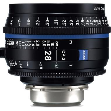 Zeiss CP.3 28mm T2.1 Lens for PL Mount
