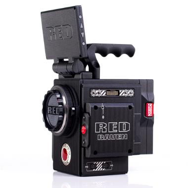 RED RAVEN 4.5K Dragon Sensor Camera with DSMC2 Accessories