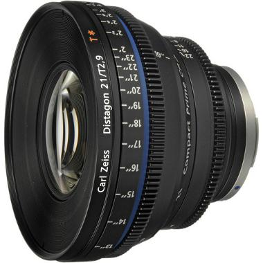 Zeiss Compact Prime CP.2 21mm/T2.9 EF Canon Mount