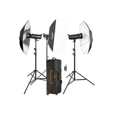 Godox SK400II 3-Light Studio Flash Kit