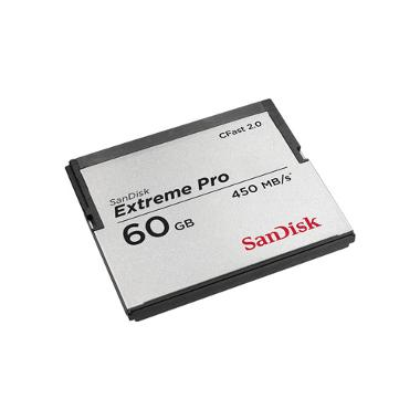 SanDisk 60GB CFast 2.0 Extreme Pro Memory Card