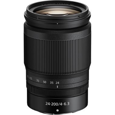 Nikon Z 24-200mm f/4-6.3 VR Lens