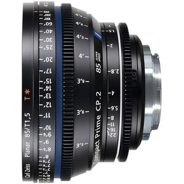 Zeiss Compact Prime CP.2 85mm/T 1.5 Super Speed EF Mount