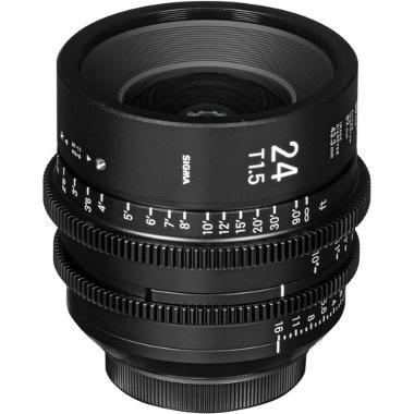 Sigma 24mm T1.5 EF Mount Cine Lens