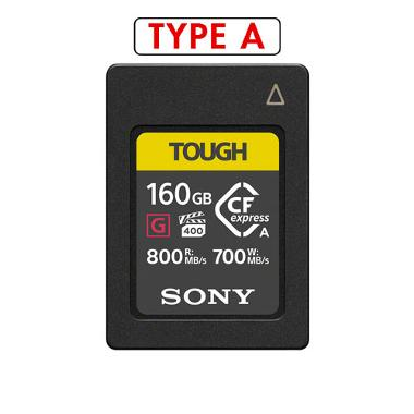 Sony 160GB CFexpress Type A 800MB/s Tough Memory Card
