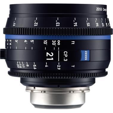 Zeiss CP.3 21mm T2.9 Lens for PL Mount
