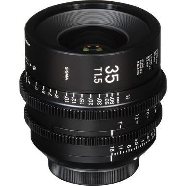Sigma 35mm T1.5 Cine EF Mount