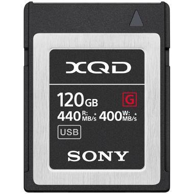 Sony 120GB XQD 440MB/s Card