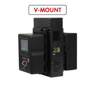 Core SWX HyperCore HC9 Mini RED V-Mount Battery Kit