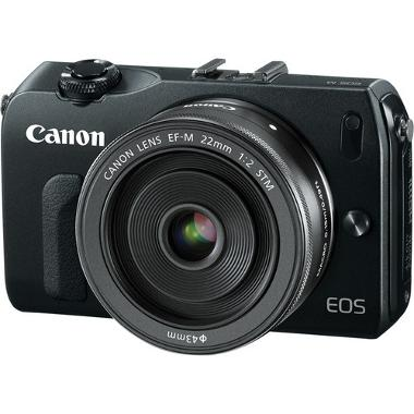 Canon EOS-M with 22mm EF-M f/2 STM Lens