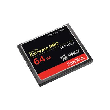 SanDisk 64GB CF Extreme Pro Memory Card