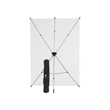 Westcott 5 x 7 White Screen X-Drop Kit