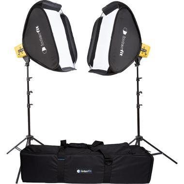 Interfit Honey Badger 320W/s 2-Light Kit