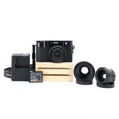Fuji X100V Conversion Lens Travel Kit