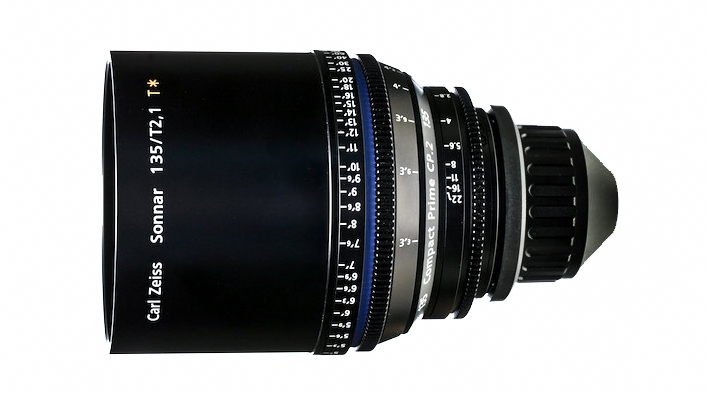 Zeiss Compact Prime CP.2 135mm T2.1 Micro 4/3 Mount Lens